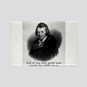 Out Of My Own Great Woe - Heinrich Heine Magnets
