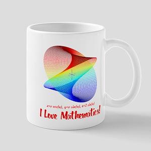 I Love Mathematics Mug