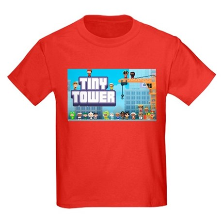 Tiny Tower Kids Dark T-Shirt