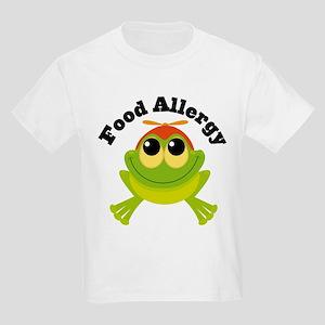 Food Allergy Frog Kids Light T-Shirt