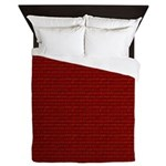 Brick Wall Decor Queen Duvet