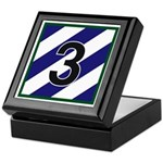 NEW! 3ID - 3rd Brigade Keepsake Box