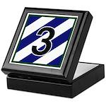 NEW! 3ID - 3rd Brigade Keepsake Box