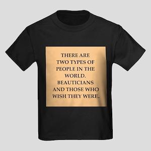 beautician Kids Dark T-Shirt