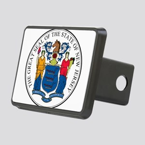 Great Seal of New Jersey Rectangular Hitch Cover