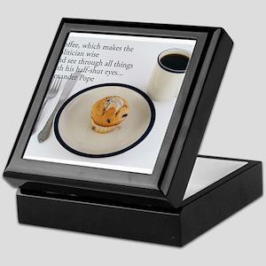 Coffee Which Makes - Alexander Pope Keepsake Box