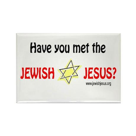 Jewish Jesus Rectangle Magnet