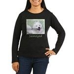 Samoyed Women's Long Sleeve Dark T-Shirt
