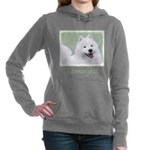 Samoyed Women's Hooded Sweatshirt