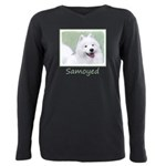 Samoyed Plus Size Long Sleeve Tee