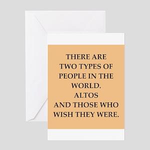 ALTOS Greeting Card