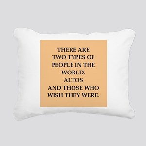 ALTOS Rectangular Canvas Pillow