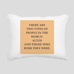 ALTOS Rectangular Canvas Pillow