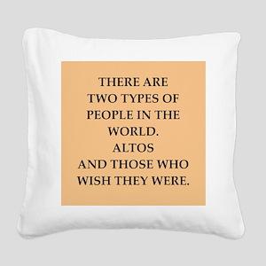 ALTOS Square Canvas Pillow