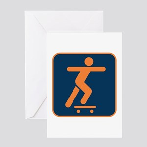 Skateboard - Skateboarding Greeting Card