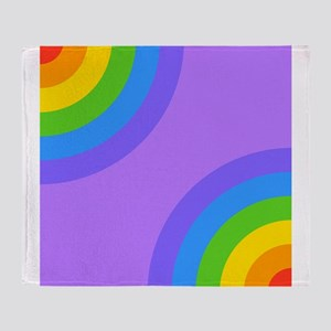 Colorful Abstract Pattern. Throw Blanket