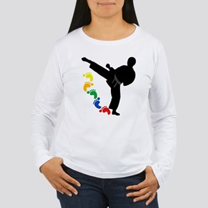 Karate Skills Women's Long Sleeve T-Shirt