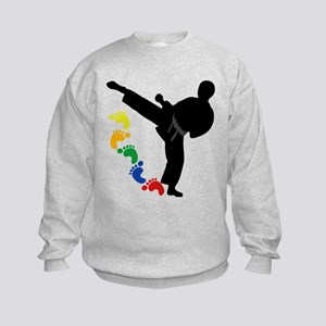 Karate Skills Kids Sweatshirt
