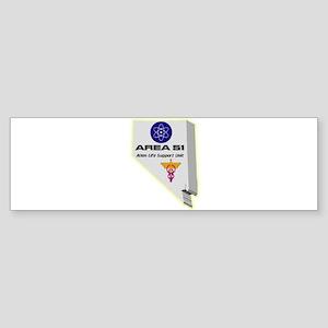 Alien Life Support Sticker (Bumper)