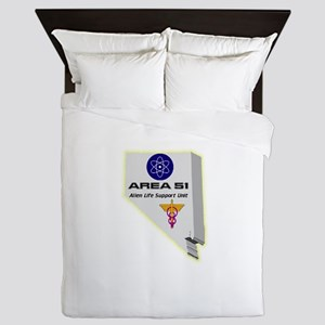 Alien Life Support Queen Duvet