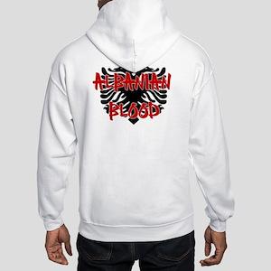 Albanian Blood Hooded Sweatshirt
