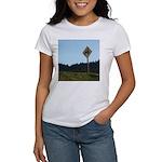 Farmer Crossing Sign Women's T-Shirt