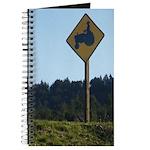 Farmer Crossing Sign Journal