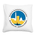 STC WDCB chapter logo Square Canvas Pillow