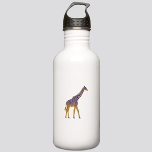 Painted Giraffe Stainless Water Bottle 1.0L