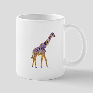 Painted Giraffe Mug