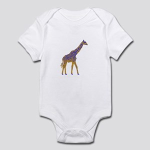 Painted Giraffe Infant Bodysuit