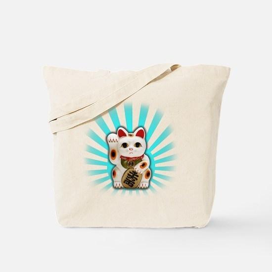 Lucky Cat (Maneki-neko) Tote Bag
