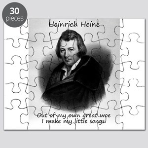 Out Of My Own Great Woe - Heinrich Heine Puzzle