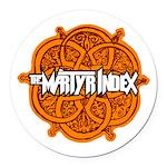 The Martyr Index - Civilization Round Car Magnet