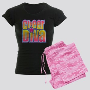 Cheerleading Diva Women's Dark Pajamas