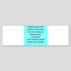 monopoly Sticker (Bumper)