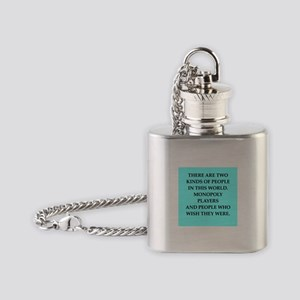 monopoly Flask Necklace