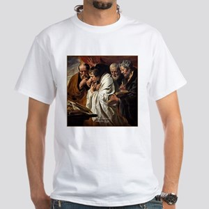 The Four Evangelists White T-Shirt