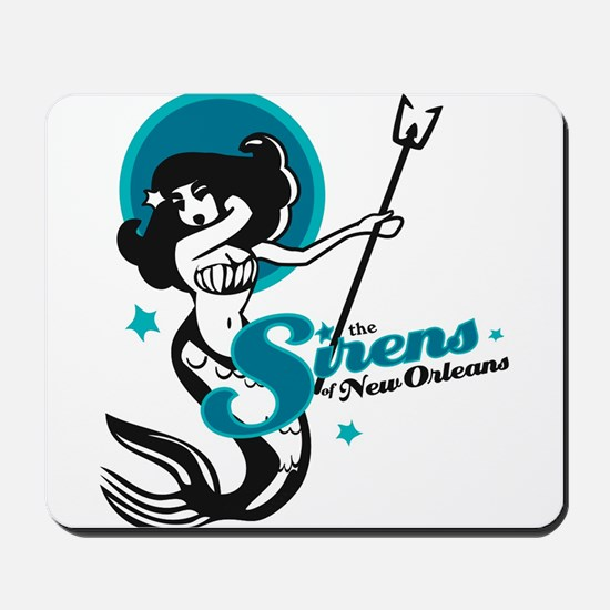 Sirens of New Orleans Mousepad
