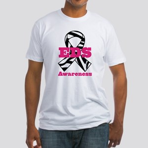 EDS Awareness Zebra Ribbon T-Shirt