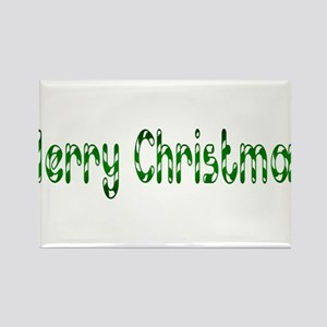 green merry chirstmas Rectangle Magnet