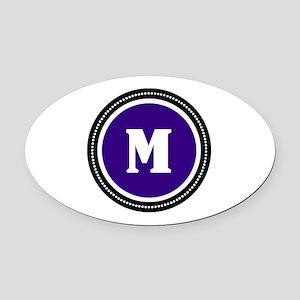 Initials Mm Car Magnets Cafepress