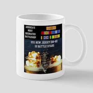 USS NEW JERSEY (BB-62) Mug