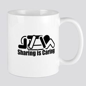 Sharing is Caring Mugs