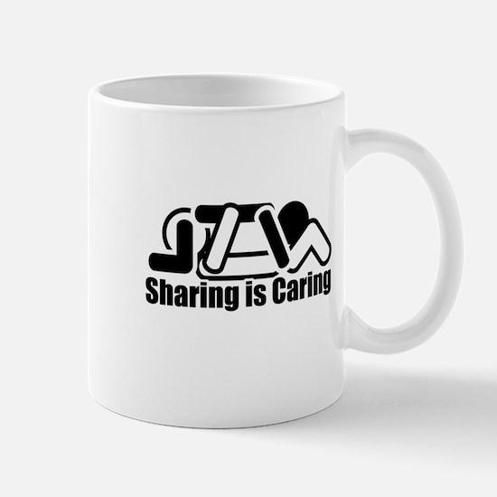 Sharing is Caring Mugs