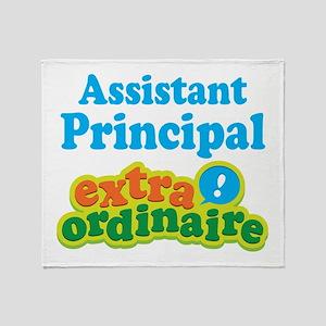 Assistant Principal Extraordinaire Throw Blanket