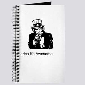 America It's Awesome Journal