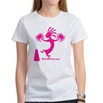 Kokopelli Cheerleader Women's T-Shirt