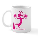 Kokopelli Cheerleader Mug