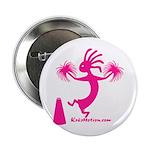 Kokopelli Cheerleader Button